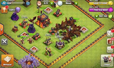 clash of clans fhx v8 latest version