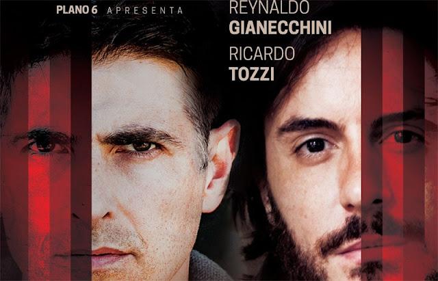 Os Guardas do Taj com Reynaldo Gianecchini e Ricardo Tozzi: eu vi