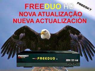 FREESKY - NOVA ATUALIZAÇÃO DA MARCA FREESKY 0act