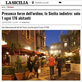 la sicilia convenzioni polizia