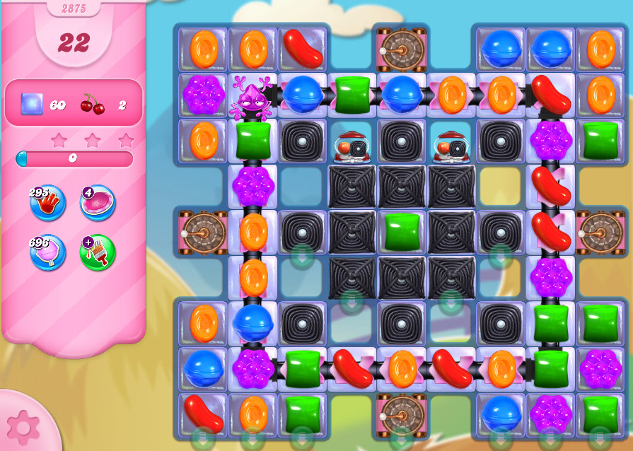 Candy Crush Saga level 2875