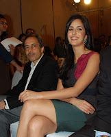 Bollywood Star Katrina Kaif At Filmfare Awards Meet Stills