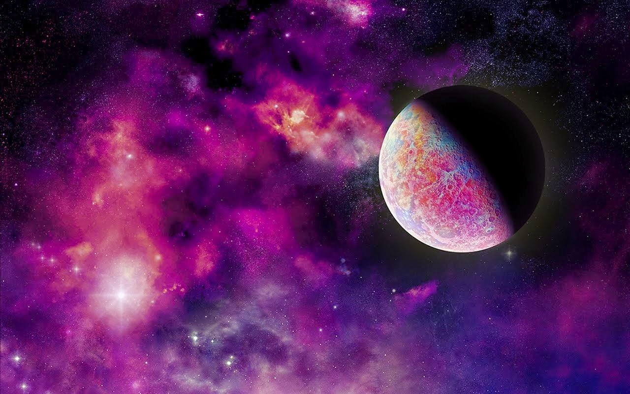 Purple space wallpaper space wallpaper - Purple space wallpaper ...