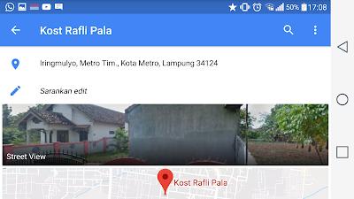 kost rafli pala Tempat Kost Terdekat Kampus IAIN Metro Dan Um Metro