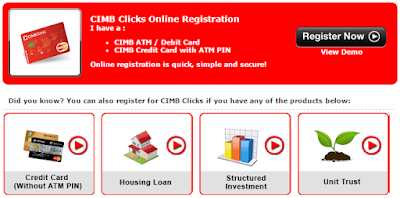 Register for cimb clicks