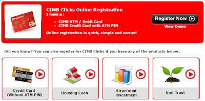 Register for cimb clicks