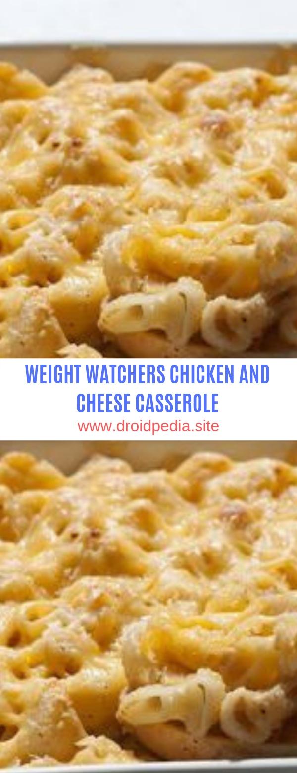 WEIGHT WATCHERS CHICKEN AND CHEESE CASSEROLE