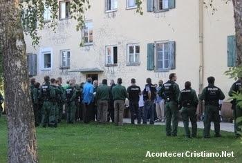 Intervención policial a secta en Alemania