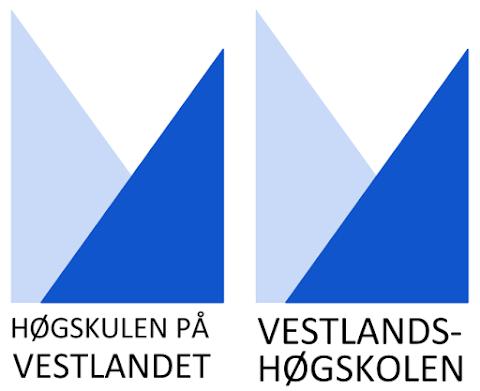 Høgskulen på Vestlandet – Logo med tekst
