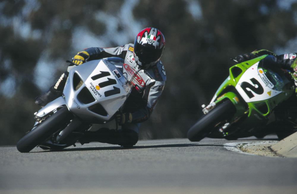 Hunwick Hallam X1R Superbike Racing