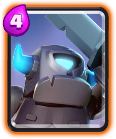 Carta Mini PEKKA de Clash Royale - Cards Wiki