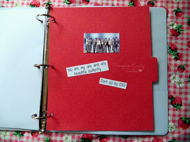 A Simple KPOP DIY Tab Dividers