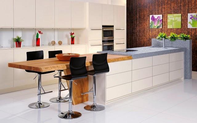 Muebles y Decoración de Interiores: Pequeñas mesas para cocinas