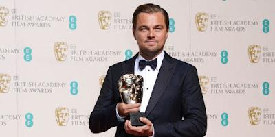 BAFTA 2016: Lista de ganadores. Leonardo DiCaprio, Mejor Actor por 'El renacido'. MÁS CINE. Making Of. Noticias.