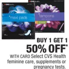 FREE CVS Health Thin Pantiliners at CVS