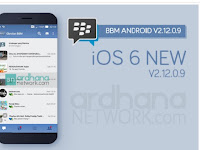 Update BBM iOS 6 New v2.12.0.9  - BBM MOD Terbaru V2.13.1.14