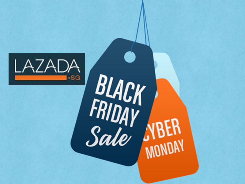 Black Friday/ Cyber Monday Sale di Lazada diskaun sehingga 90%