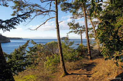 The Bowman-Rosario Trail at Deception Pass State Park