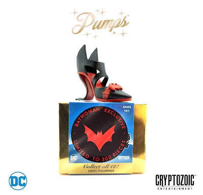 San Diego Comic-Con 2018 Exclusive Batwoman DC Pumps Vinyl Figure by Cryptozoic Entertainment
