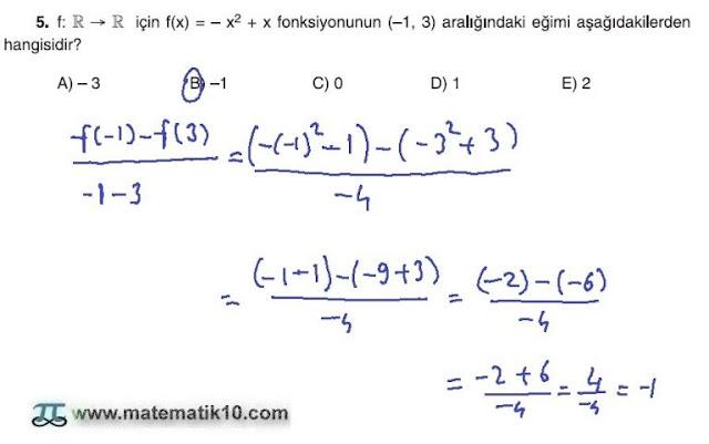 10. Sınıf Matematik Tuna Yayınları Ders Kitabı 110. Sayfa Çözümleri