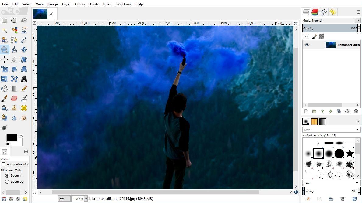 تحميل  برنامج  2.10.8 gimp  للكمبيوتر والايفون والاندرويد والماك برنامج تعديل الصور والكتابه عليها بالعربي للكمبيوتر مجانا