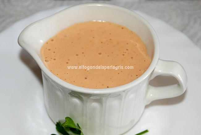 Receta de salsa rosa o salsa cóctel