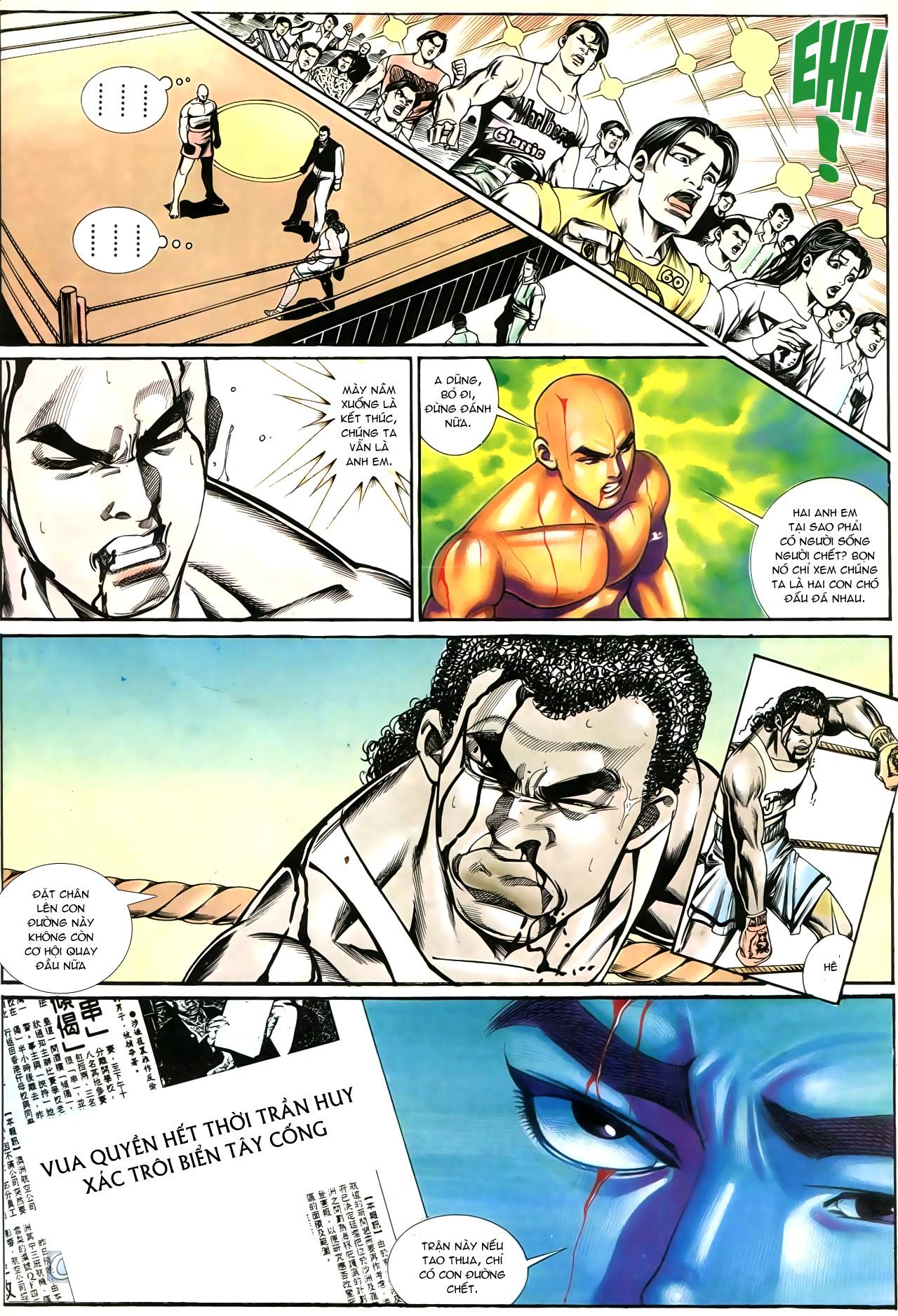 Người Trong Giang Hồ chapter 195: sóng gió ngút trời trang 24