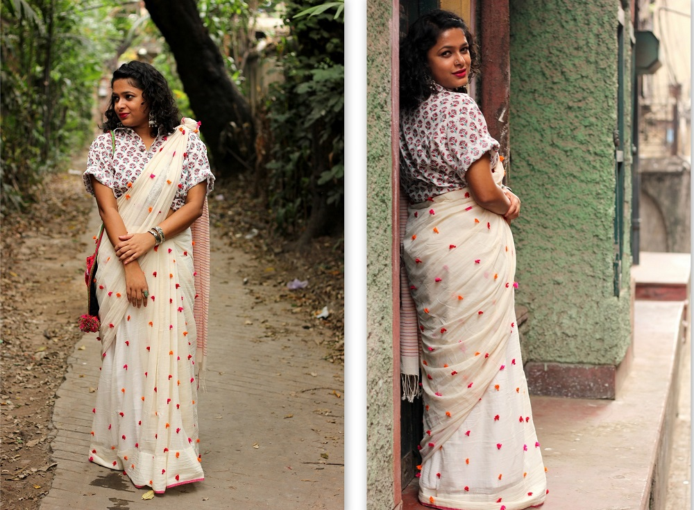 A Knotty Checkered Affair this Bengali New Year - Live Laugh