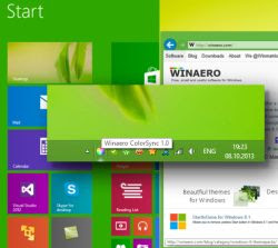 Start Windows 8.1 colori