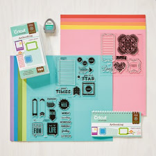 New Cricut Artbooking Collection