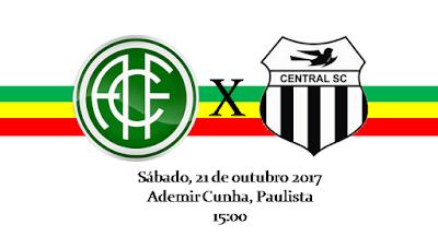 América x Central, hoje pelo sub20