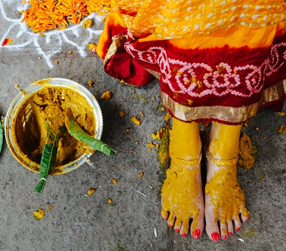"""Spiritual uses of """"Turmeric"""" a yellow spice in Hinduism"""