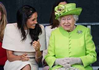 Meghan Markle and Queen of England