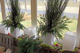 decora ventana navidad