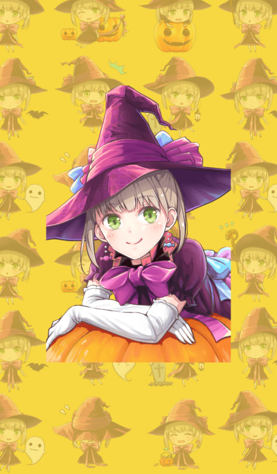 [Halloween]Cute witch
