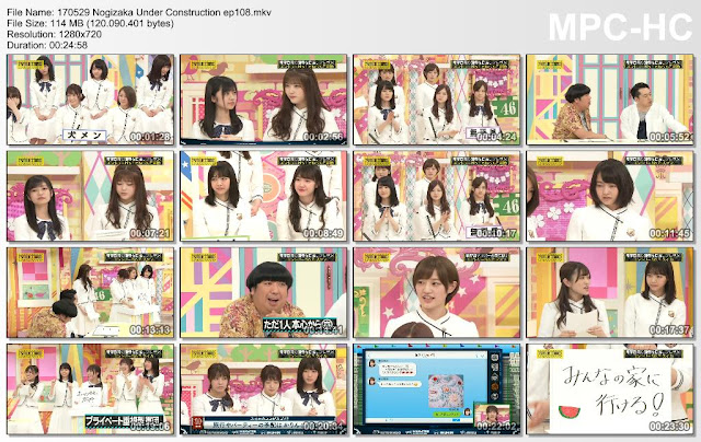 170529 Nogizaka Under Construction Ep 108 Subtitle Indonesia