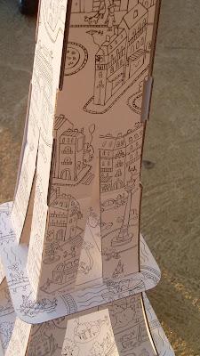 peindre une tour eiffel