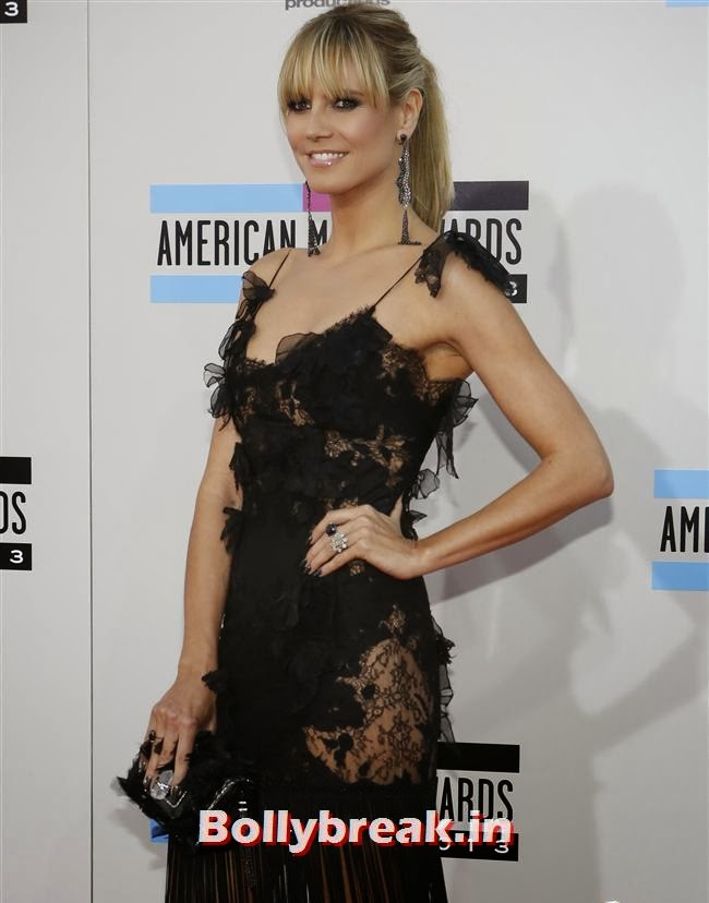 Heidi Klum, American Music Awards 2013