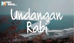 Lirik Lagu NDX AKA - Undangan Rabi