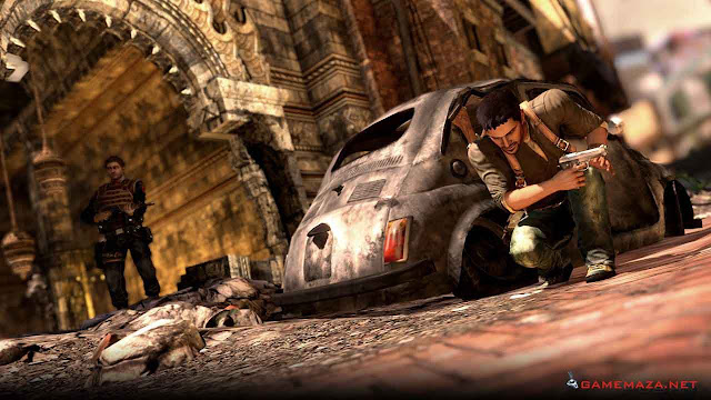 Uncharted 2 Among Thieves Gameplay Screenshot 1