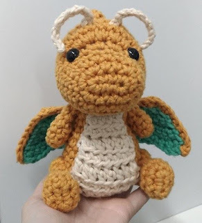 PATRON GRATIS DRAGONITE | POKEMON AMIGURUMI 34601