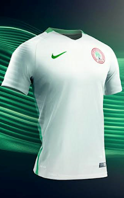 Nike launches new Nigeria jerseys [PHOTO]
