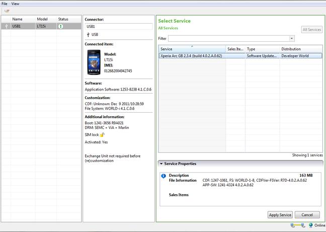 Flash Tool Resmi untuk Ponsel Xperia