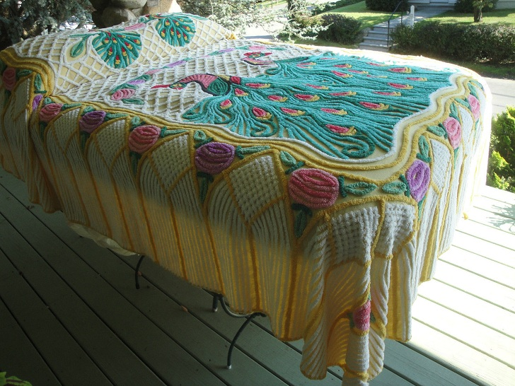 Ebay Selling Coach Hot Vintage Item To Sell On Ebay Chenille Bedspreads