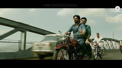 Dhingana Song | Raees, shahrukh khan on bike image, photos, wallpaper, cover pictures