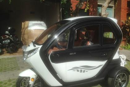 Motor Listrik Roda Tiga Selis Sudah ada di Bali?