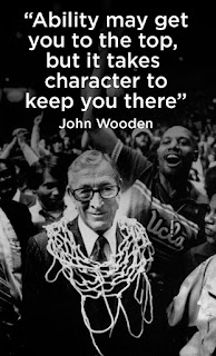 John Wooden, Coach, Character, Quote