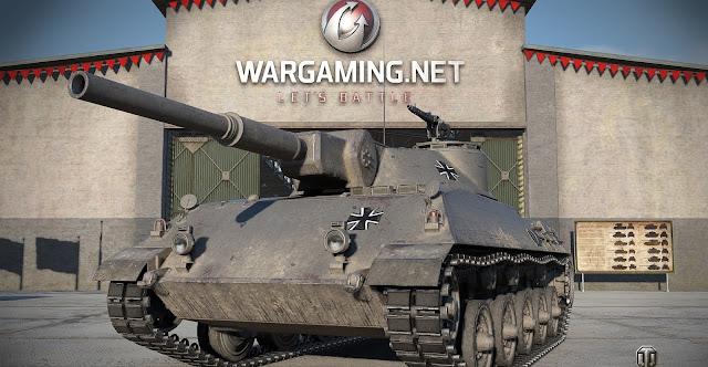Rheinmetall Panzerwagen - ảnh render của Wargaming