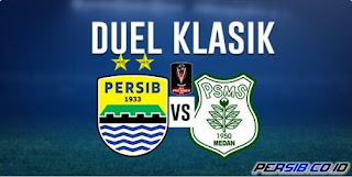 Persib Bandung Kantongi Kekuatan PSMS Medan