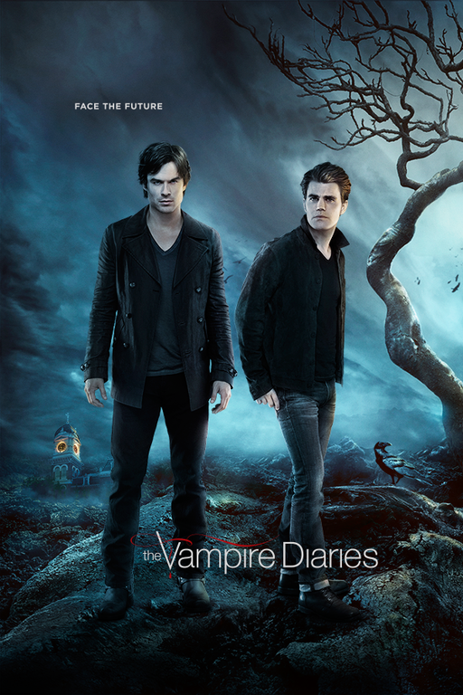 Série The Vampire Diaries – Todas as Temporadas – em Full HD